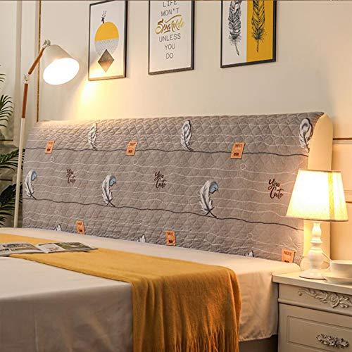 Bett Kopfteil Abdeckung Staubdichte Stretch Bett Kopfschutz Abdeckung für Twin Queen Full California King Size Betten Dekorative Protektoren