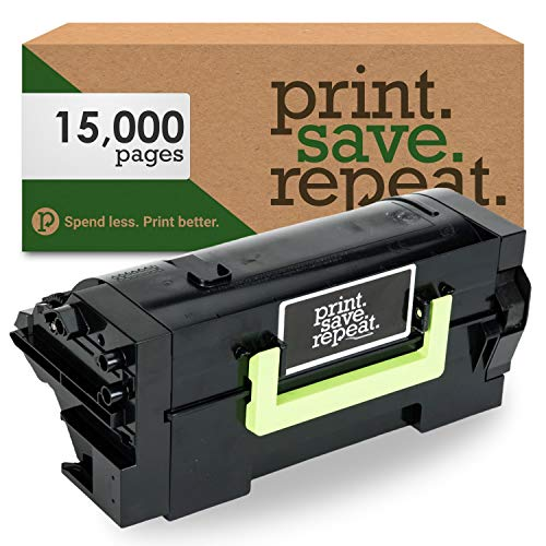 Print.Save.Repeat. Lexmark 58D1H00 High Yield Remanufactured Toner Cartridge for MS725, MS821, MS822, MS823, MS824, MS825, MS826, MX721, MX722, MX725, MX822, MX824, MX826 [15,000 Pages]
