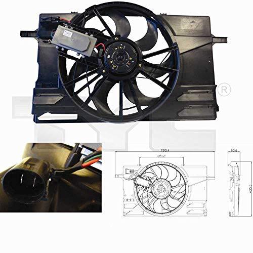 Ventilateur pour moteur pour C30, C70 II Cabriolet (aussi S40), V50