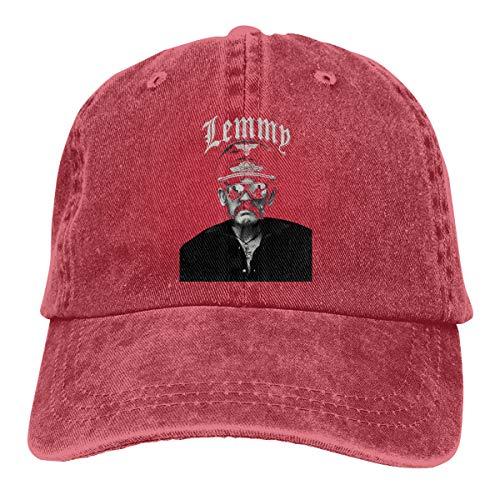 N / A Lemmy Kilmister Hut Cap Cowboyhut Baseballkappe Baumwolle Unisex Alle Jahreszeiten Sind Bequem Und Atmungsaktiv