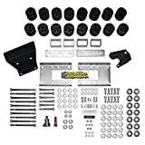 """Performance Accessories, Dodge Ram 1500 Gas 2WD and 4WD (Including Air-Ride) 3"""" Body Lift Kit, fits 2009 to 2017, PA60203, Made in America"""