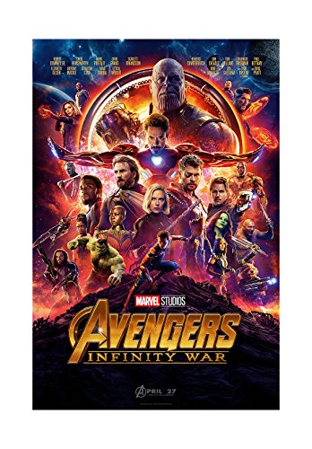 PosterOffice The Avengers Infinity War (Advance) Movie Poster - Size 24' X 36' - This is a Certified Print with Holographic Sequential Numbering for Authenticity.