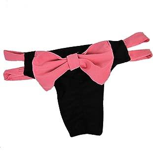 Cocobla Brazilian Lady Beach Bikini Bowknot Cheeky Bottom Swimwear Summer Bathing Thong