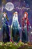 Journal Notebook Diary Inspirational Witch Faerie Moon Women's Goddess 6x9 120 Blank Pages Gift by Artist Terri Foss