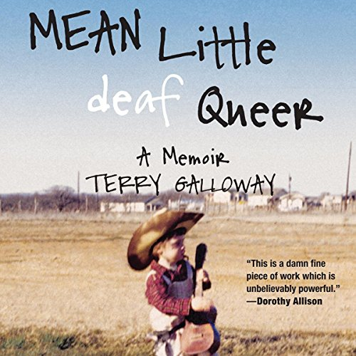 Mean Little Deaf Queer audiobook cover art