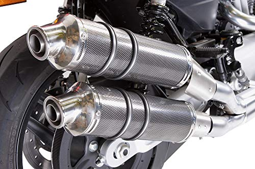 GPR SCARICO TERMINALE - HARLEY DAVIDSON XR 1200 OMOLOGATO / HOMOLOGATED DUAL HOMOLOGATED SLIP-ON EXHAUST SYSTEM BY GPR EXHAUST SYSTEMS POPPY TONDO LINE