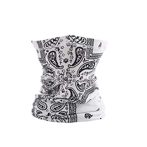 Janly Clearance Sale Decoración & Hangs, Impresión digital de la toalla para montar al aire libre de la oreja colgante de la máscara a prueba de insectos, para la Navidad Casa y Jardín Decorar, (E)