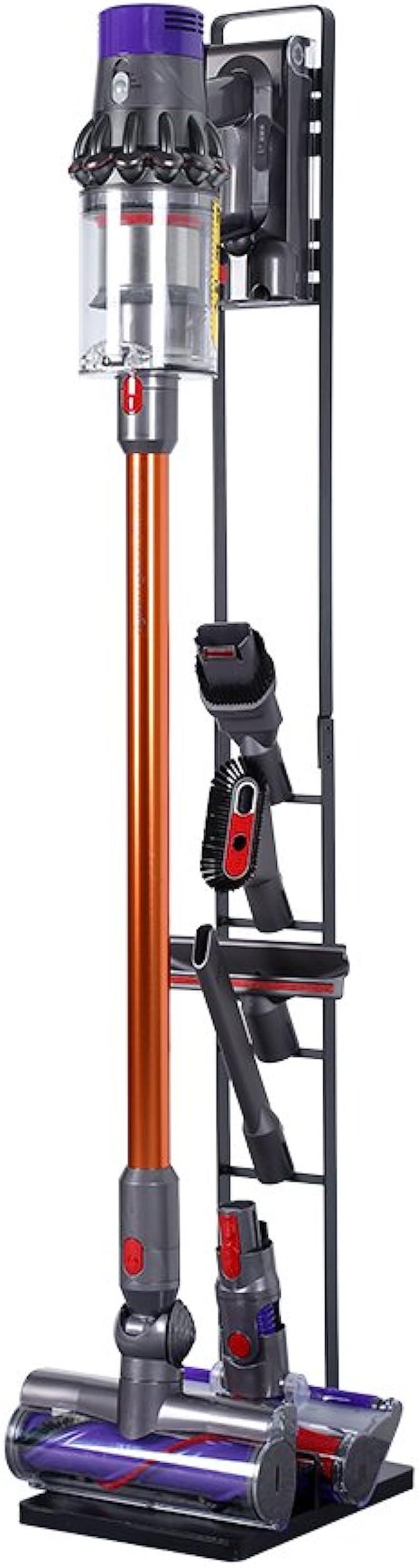 Dinggreat supporto per accessori aspirapolvere, stand da pavimento per dyson