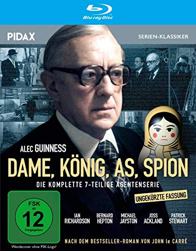 Dame, König, As, Spion - Ungekürzte Fassung / Die komplette 7-teilige Agentenserie nach dem Bestseller von John le Carré (Pidax Serien-Klassiker) [Blu-ray]