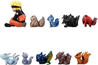 Siyushop Set of 11 Pieces Naruto with Tailed Beasts Action Figures