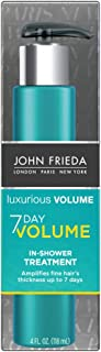 John Frieda Luxurious Volume 7-Day Volume In-Shower Treatment, 4 Ounce