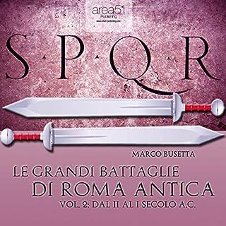 Le grandi battaglie di Roma antica vol. 2 copertina