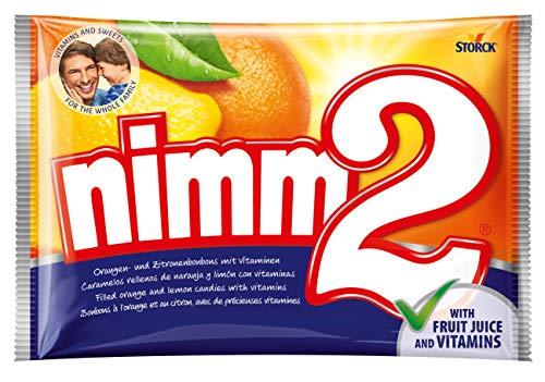 nimm2 (2 x 1kg) / Bonbons mit Fruchtsaft und Vitaminen