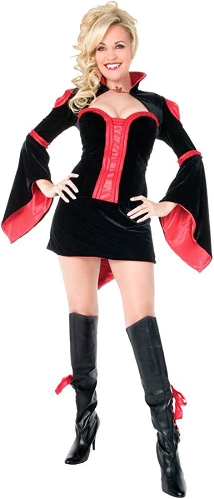 Fun World Women's Vamptease Costume Tulsa Mall Medium Vampire Quality inspection Girl Sexy