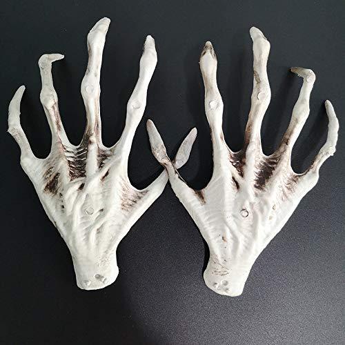 ZXD123 Halloween Accesorios Skeleton Skeleton Hand Ghost House Bar Secret Room Escapes Deco Decoration Props Creative Whole Props 23 x 17cm Un