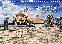 Madeira - Insel mitten im Atlantik (Wandkalender 2022 DIN A4 quer): Die schoene portugiesische Insel Madeira (Monatskalender, 14 Seiten )