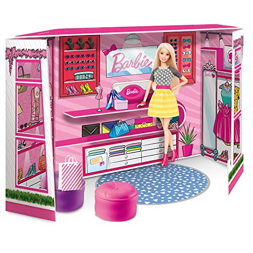 Lisciani Giochi - Barbie Fashion Boutique con Doll, 76918