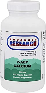 2-Aep Calcium 500 Milligrams 200 Veg Capsules