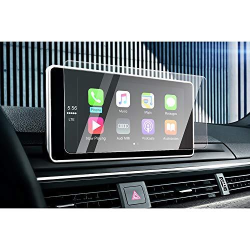 CDEFG A4 B9 A5 Q5 Auto Navigation Glas Schutzfolie 9H Kratzfest Anti-Fingerprint GPS Transparent Bildschirmschutzfolie (8,3 Zoll)