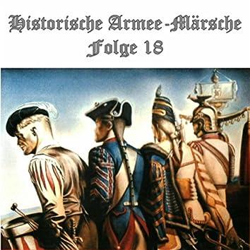 Historische Armee-Märsche Folge 18