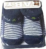 Apollo Baby Erstling Socken Boy - Blau/Weiß/Mehrfarbig