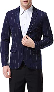 Men's Blazer Slim Fit Stripe Stylish Leisure Blazer Blazer Comfortable Sizes Spring Autumn Jackets Men's Casual Suit Jacke...