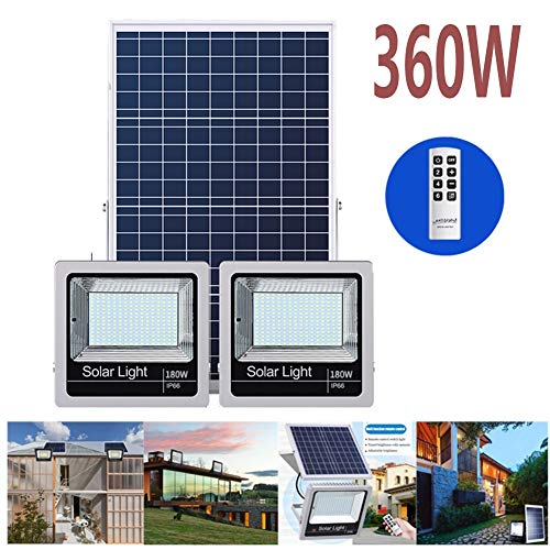 Solar Floodlight, Outdoor Garden Light Remote Control Household Energy Saving Solar Light Street Light Waterproof Flood Lights High Power Super Bright Led Spotlights Searchlight (Size : 300W)