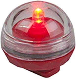 Biedermann & Sons Submersible LED Candles, 12-Count, Red
