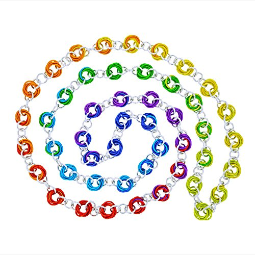 Weave Got Maille Ombre Color Wheel Chainmaille...