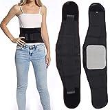 Zetiling Cinturón Abdominal, cinturón de Fitness, cinturón de Sudor para Quemar Grasa Fibra de poliéster Tejido Altamente elástico Sauna cinturón Abdominal Ejercicio Fitness Entrenador de Cintura(XL)