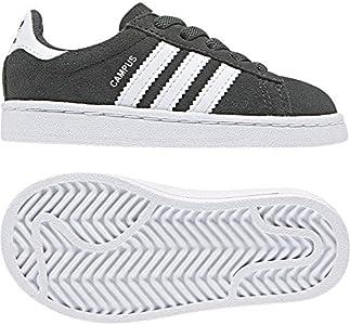 Adidas Campus EL I, Zapatillas de Estar por casa Bebé Unisex, Multicolor (Hieley/Ftwbla/Ftwbla 000), 19 EU