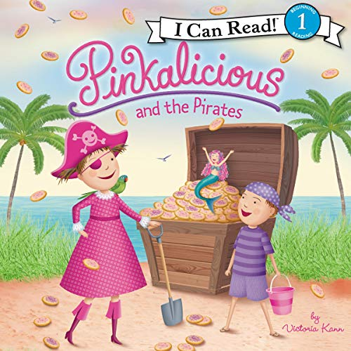 Pinkalicious and the Pirates audiobook cover art