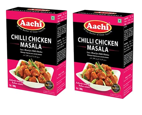 AACHI Chilli Chicken Masala 200 Max 70% OFF GMS - 2 PACK Ranking TOP5 OF -TWIN