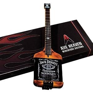 Axe Heaven MA-030 Elektrischer Jack Daniels Miniatur Bass Nachbildung