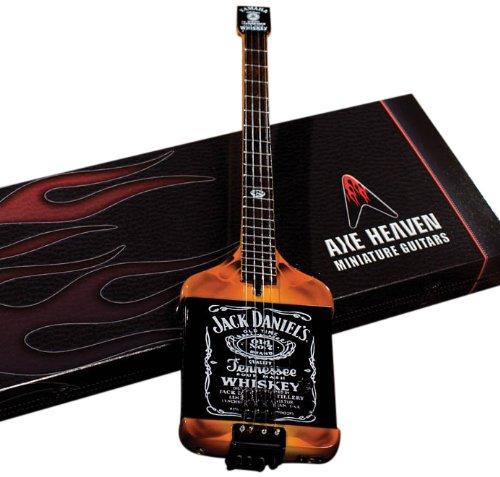 Jack Daniels Elektrische Miniatuur Bas Gitaar