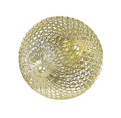 Kaheku Dekokugel Brano Weihnachten modern skandi Edelstahl Gold d5,5 cm