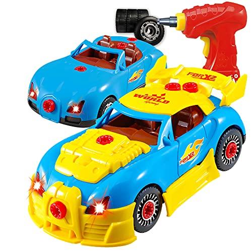 Take Apart Toy Racing Car Set
