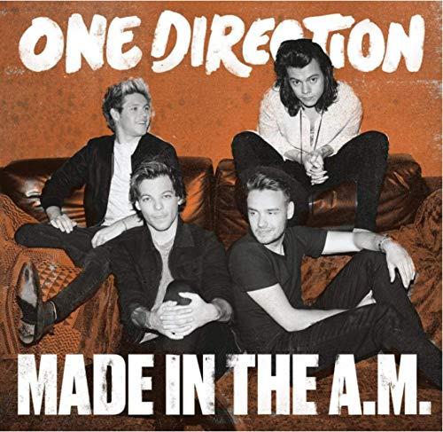 Vscdye One Direction (Made in The Am - Edición de Vinilo) 2020 Póster de Portada Impresión de Arte en la Pared Lienzo Decoración para el Dormitorio del hogar Regalo (60x60cm) -24x24 IN Sin Marco