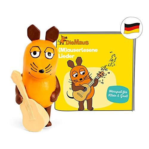 tonies Hörfiguren für Toniebox: Maus (M) auserlesene Lieder - 17 Kinderlieder Figur - ca. 40 Min. - ab 3 Jahre - DEUTSCH