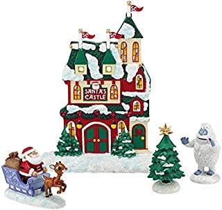 Department 56 Rudolph the Red Nosed Reindeer Santas Castle Figurines Set of 4