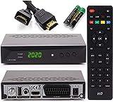 [ Test GUT *] Anadol HD 222 Pro - PVR Aufnahmefunktion, Timeshift, - UNICABLE - Digital HDTV Sat-Receiver für Satellitenfernseher - Astra & Hotbird vorinstalliert - HDMI SCART USB DVB-S/S2