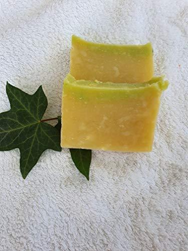Lindenblütenextrakt Haarseife, mit Rizinusöl für leichte Kämmbarkeit