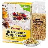 Flügge Linomel Leinsamen-Honig-Granulat, bio, 3 x 250g -