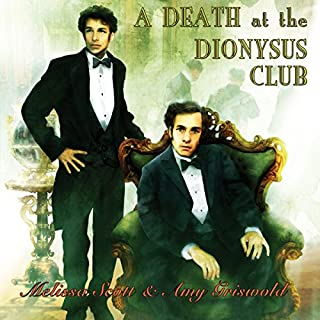 A Death at the Dionysus Club audiobook cover art