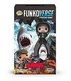 Funko 46069 Pop Funkoverse: Jaws 100 Expandalone Juego de Mesa de Estrategia, Multicolor
