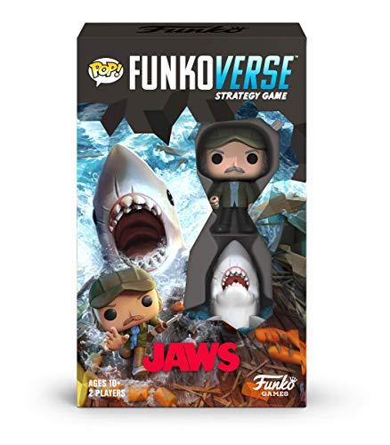 Funko 46069 Pop Funkoverse: Jaws 100-Expandalone-Strategie-Brettspiel, Mehrfarbig