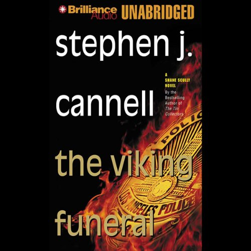 The Viking Funeral audiobook cover art