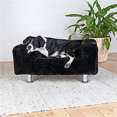 Trixie King de perros sofá, 78 x 55 cm), color negro