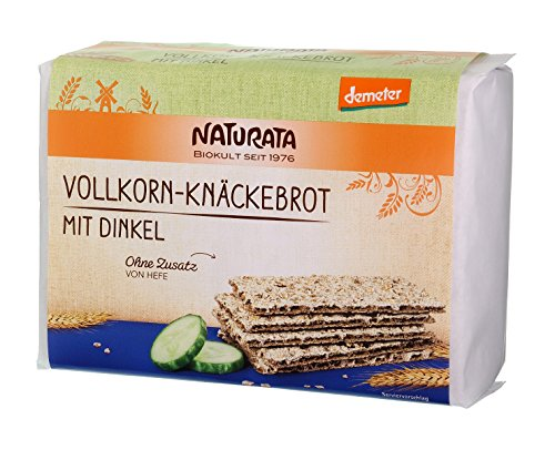 Naturata Vollkorn-Knäckebrot mit Dinkel (250 g) - Bio