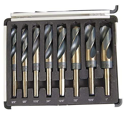 14PC Métrique Impérial Hex Hexagonal Allen Alan Clé Clé Set avec 2 Porte-clés porte